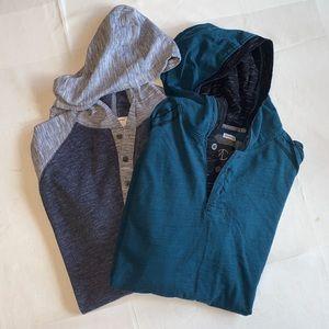 2 Men's Sweatshirts